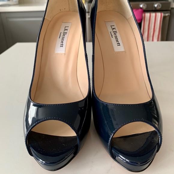 LK Bennett Shoes - Brand New L.K. Bennett Nina Peep Toe Shoes Sz 36